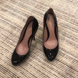 Black Patent Leather Gucci Heels